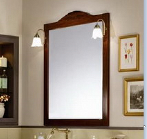 IDEA/OLD FASHION Зеркало в раме Milord 95*118h (colore bianco patinato)